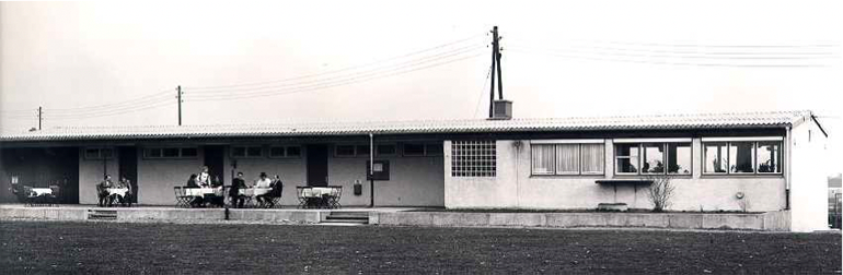 Das Clubhaus des HCL 1968