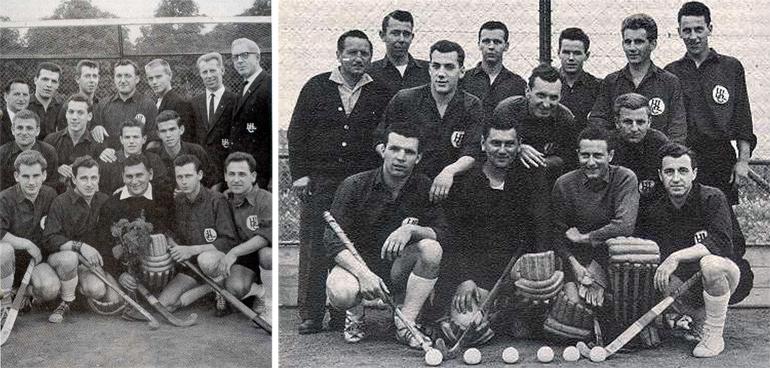 Feldmeisterschaft 1961/62 und zum ersten Mal in einem deutschen Endspiel