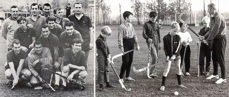 """Aufstieg in die Bundesliga 1969 (Feld) und Jugendtraining 1969: Damals wie heute: """"Ein wichtiger Bestandteil des Vereinslebens ist die Jugend!"""""""