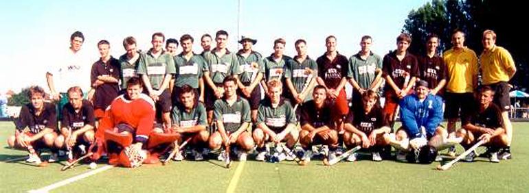 1. Herrrenmannschaft Sprung 1. Regionalliga Süd 1999