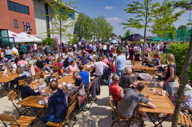 Am 1. Mai wird beim HCL Ludwigsburg gefeiert