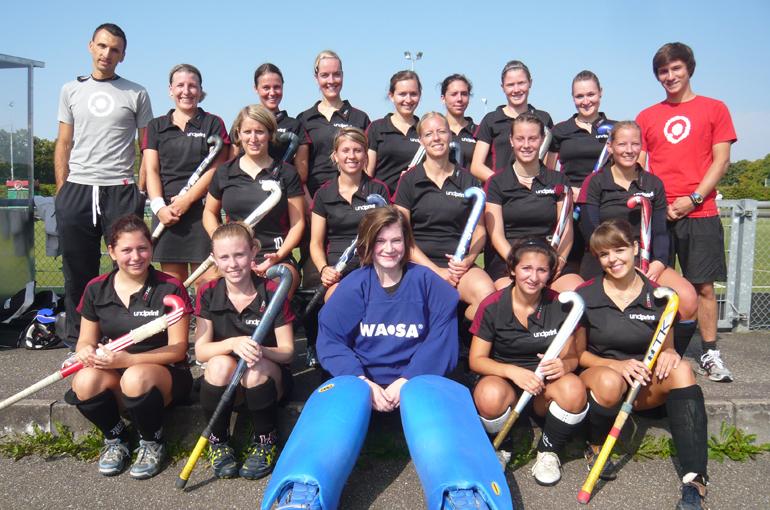 Die Damen Mannschaft von 2010