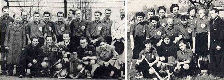 Feldmeisterschaft 1952 und 1954